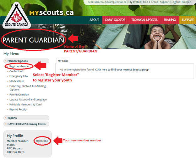 scout online dating sign in